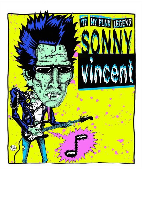 Sonny Vincent Tour poster